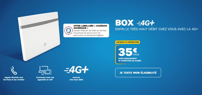 Box 4g Illimitée