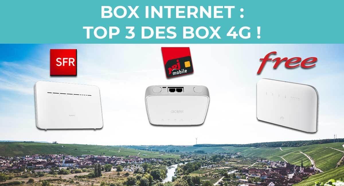 Box 4 G Sans Abonnement